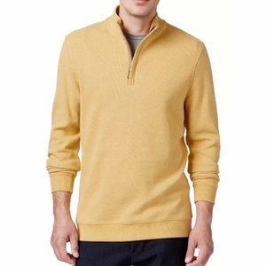 Tasso Elba Honeycomb 1/4 Zip Pullover Sweater